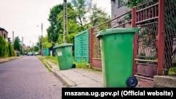 Контейнери для сміття у Польщі