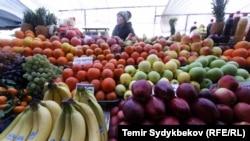 Ошский рынок. Иллюстративное фото