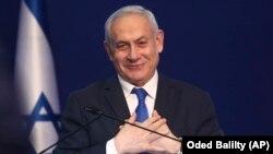 Իսրայելի վարչապետ Բենյամին Նեթանյահու, Թել Ավիվ, 2-ը մարտի, 2020թ.