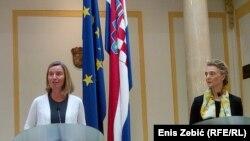 Hrvatska podupire europsku perspektivu svih šest država regije: Federica Mogherini i Marija Pejčinović Burić