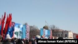 Празднование Нооруза в Кыргызстане, 2012.