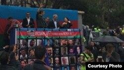 Акція протесту опозиції у Баку, Азербайджан, 17 вересня 2016 року