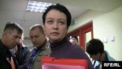 Белорусская правозащитница, россиянка Елена Тонкачева
