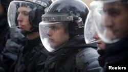 Полицейский спецназ, архивное фото
