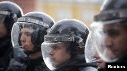 Полиция на акции сторонников Навального (иллюстративное фото)