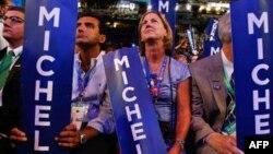 Denver, 25 gusht 2008 - Pamje gjatë Konventës së Partisë Demokratike.