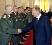 President Vladimir Putin leads an elite increasing made up of KGB/FSB veterans (file photo) (ITAR-TASS)
