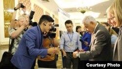 Августта узган Бөтендөнья татар яшьләре форумында Вячеслав үз проектын Татарстан җитәкчелегенә тәкъдим итте
