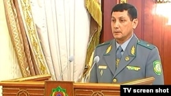 Türkmenistanyň Döwlet serhet gullugynyň başlygy wezipesine A. Garaýew bellendi, 1-nji awgust.