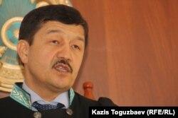 Судья апелляционной коллегии Алматинского городского суда Лукмат Мерекенов. Алматы, 27 января 2014 года.