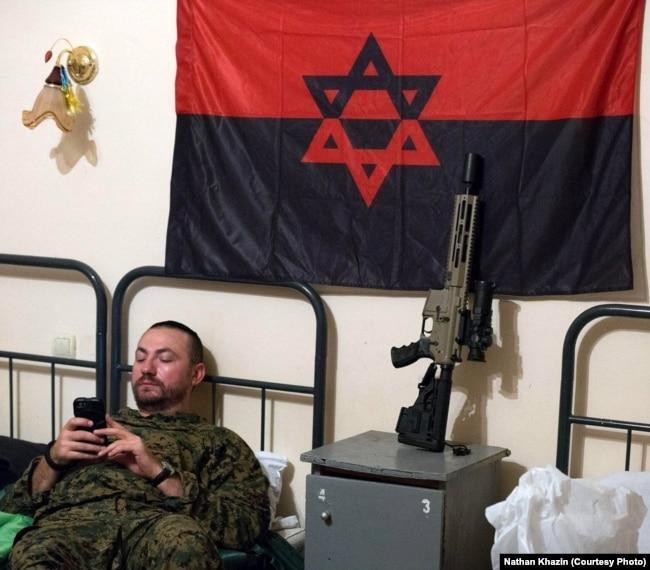 Натан Хазін – ексрадник начальника генштабу ЗСУ, аеророзвідник, який неодноразово працював у зоні АТО (архівне фото)