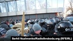 Сутички біля Верховної Ради України, Київ, 17 грудня 2019 року