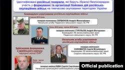 Один із інформаційних матеріалів, представлених СБУ щодо участі Збройних сил Росії в бойових діях на Донбасі. Київ, 28 серпня 2015 року. Ілюстраційне фото