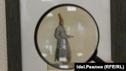 Марийский женский костюм на старинной гравюре