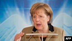 Ангела Меркель, канцлер Германии. Германия, 24 февраля 2012 года.