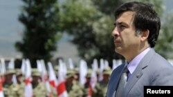 Moscow will not talk to Georgian President Mikheil Saakashvili.
