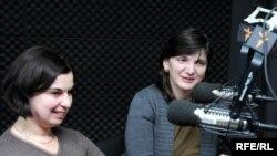 ეკა ქიმერიძე, ექსპერტი (მარცხნივ) და მადონა კოიძე, საქართველოს მომხმარებელთა ფედერაციის თავმჯდომარე