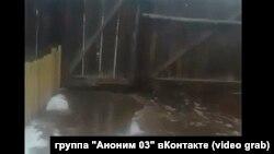 Затопление в Курумканском ра0ойне Бурятии