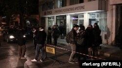 Штаб-квартира греческой партии СИРИЗА. Афины, 26 января 2015 года.