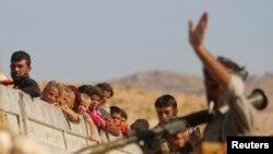 Припадници на курдските сили во Ирак