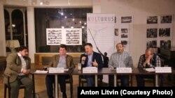 «Війна і (русский) мир», дискусія у Празі з журналістами Радіо Свобода