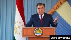 Täjik prezidenti Emomali Rahmon
