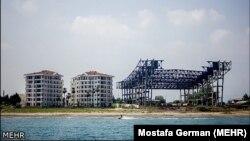 Иранское побережье Каспийского моря.