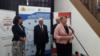 Деница Сачева (на микрофона) досега заемаше длъжността зам.-министър на образованието