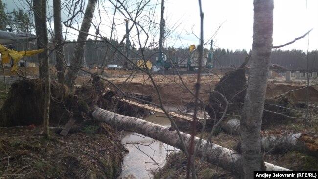 То, что осталось от ручья