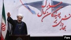حسن روحانی در مراسم نمادین آغاز به کار دانشگاههای ایران
