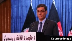 د افغانستان د دفاع وزیر طارق شاه بهرامي