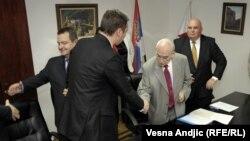 Srbija: Potpisivanje koalicionog sporazuma