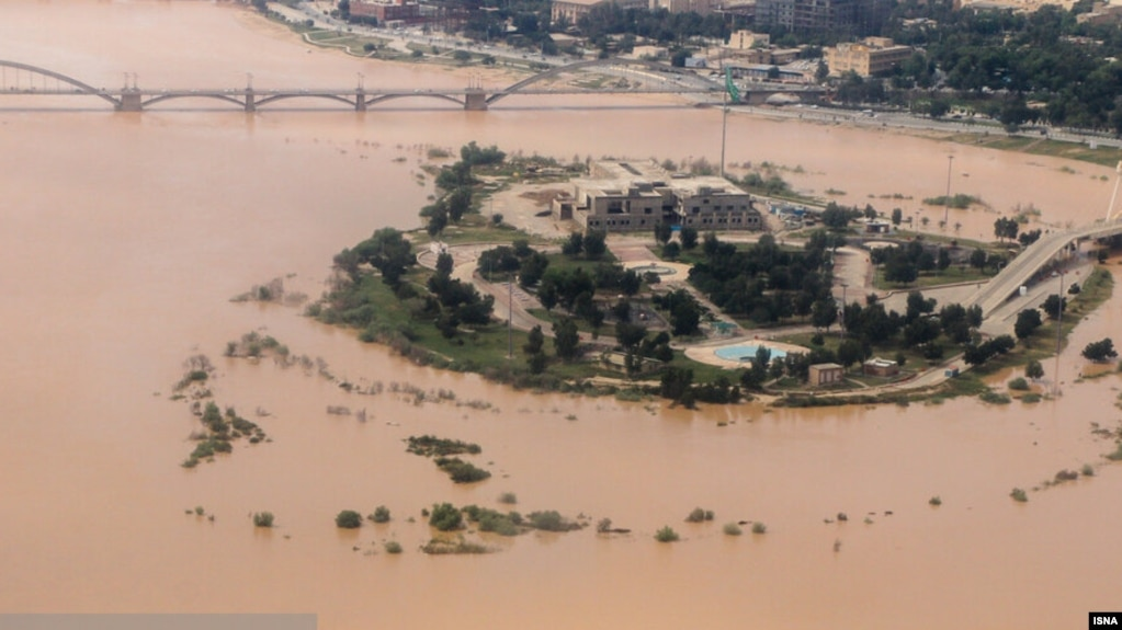 Iran - Floods in southwestern Khuzestan province, March 29, 2019