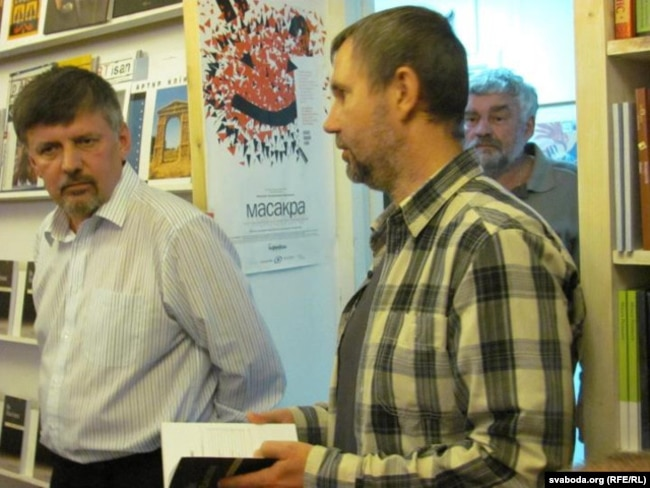 Ян Максімюк і Ігар Бабкоў, Менск, верасень 2011