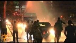 Разгон демонстрации в Анкаре