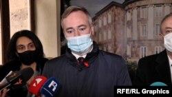 Госсекретарь по европейским вопросам МИД Франции Жан-Батист Лемуан, Ереван, 27 января 2021 г.