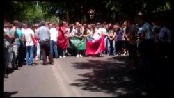 Почеток на протестите за Монструм