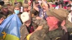 Përleshje në Kiev