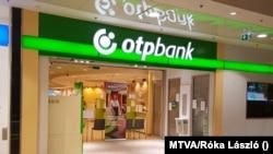 OTP bankfiók az Árkád üzletházban 2020. május 28-án.