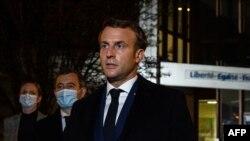 Францускиот претседател Емануел Макрон