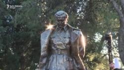 Otkriven spomenik Titu u Podgorici