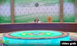 G.Berdimuhamedow Assosiasiýanyň prezidenti wezipesinden çekilmek kararyna gelendigini aýtdy.
