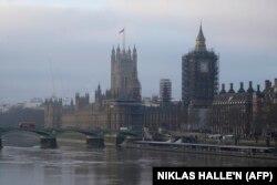 Улуу Британиянын парламентинин имараты. 2020-жылдын 31-декабры.