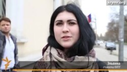 ATR telekanalına qol tutqan Qırım studentlerini maküm eteler