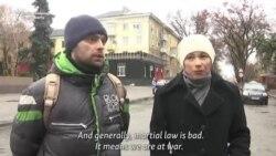 Ce cred ucrainenii despre legea marțială