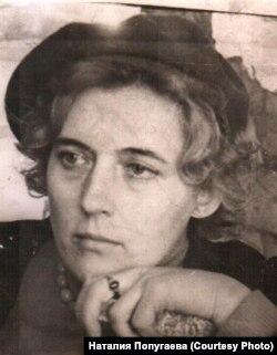 Лариса Попугаева. 1968 г.