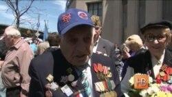 Бруклинские ветераны из бывшего СССР отмечают День Победы