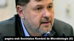 Preşedintele Societăţii de Microbiologie, Alexandru Rafila