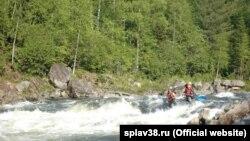 Сплав на реке Китой, иллюстративное фото