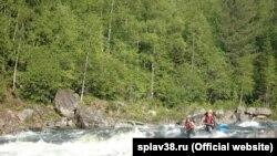 Сплав на реке Китой (архивное фото)